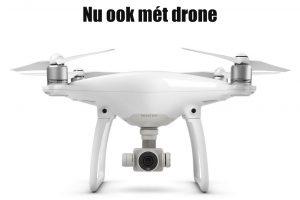 Bruidsfotografie Drone