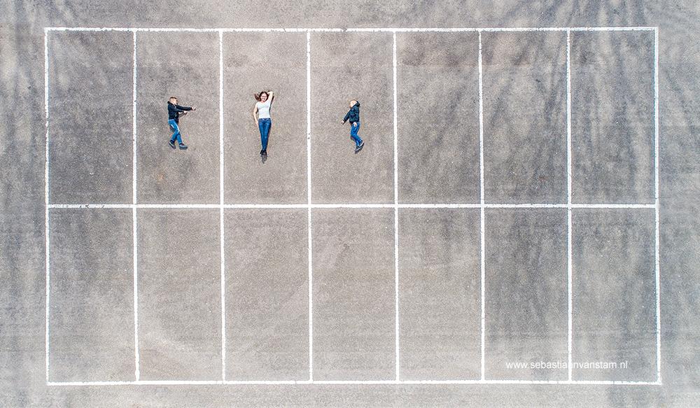 Drone Familiefotografie
