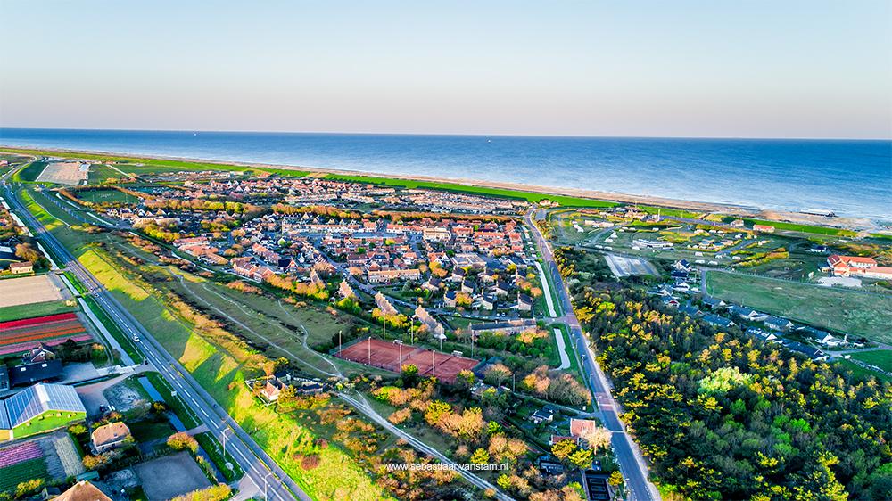 Drone fotografie Petten