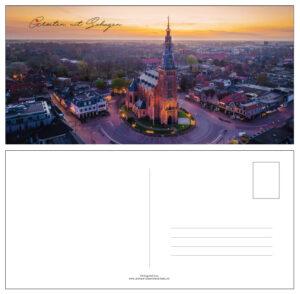 Ansichtkaart Kerk Schagen