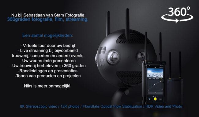 360graden fotografie, film, streaming diensten