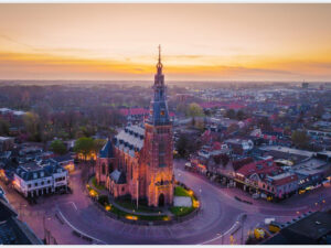 Diamond painting Kerk Schagen