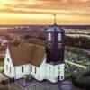 Callantsoog Kerk Zonsopgang