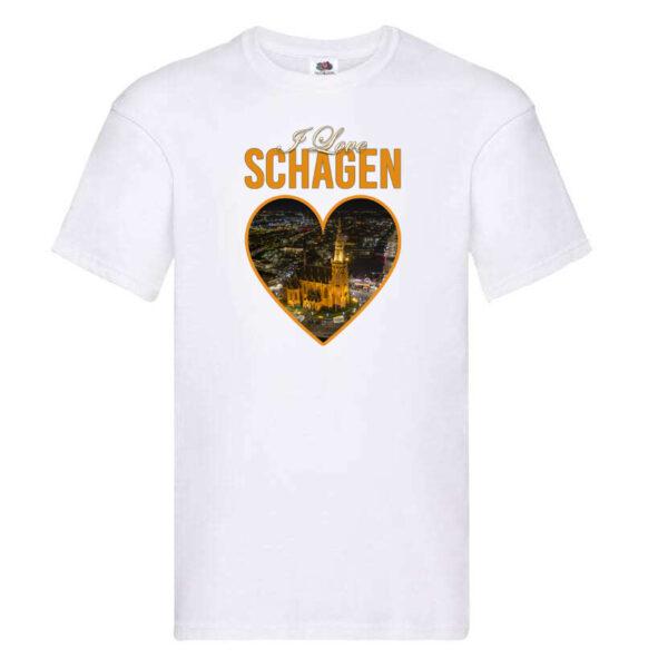 Shirt Wit tshirt t-shirt Schagen