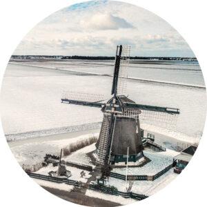 Behangcirkel Groenveld winter 2021