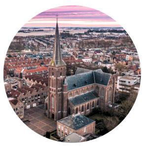 Behangcirkel Christoforus Kerk