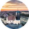 behangcirkel kerk callantsoog