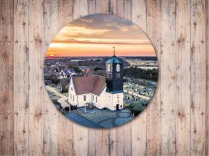 Tuincirkel Kerk Callantsoog Zonsopgang